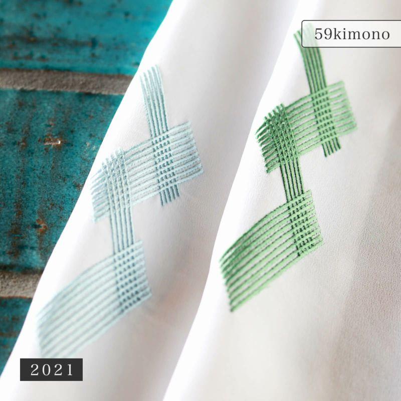 59 刺繍半衿